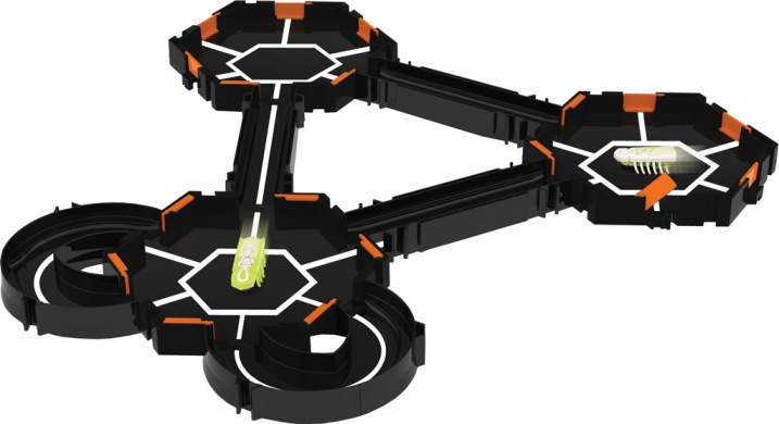 "HEXBUG 501086 - nano Habitat Set ""Glow in the Dark"""